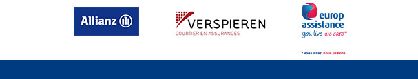 partenaires : Allianze, Verspieren et Europ assistance